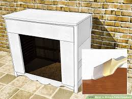 How To Make Fake Fireplace by Build A Fake Fireplace Fireplace Ideas