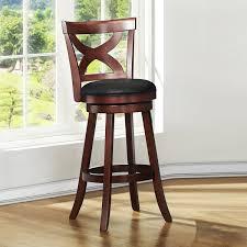 swivel bar stool with back facil furniture