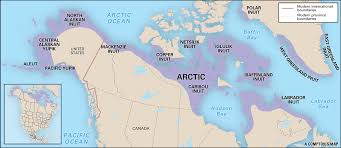 Native American Tribes Map The Arctic Native Americans Lessons Tes Teach