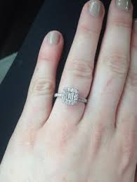 neil emerald cut engagement rings pin by angela manzano on rings