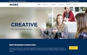 free templates for business websites acura business bootstrap website template webthemez