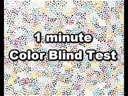 Color Blind Design 1 Minute Color Blind Test Youtube