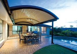 Unique Patio Creations 11 Best Stratco Outback Curved Roof Patio Images On Pinterest
