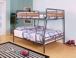 Pipe Like Black Silver XL Full Over Queen Metal Bunk Bed - Full over queen bunk bed
