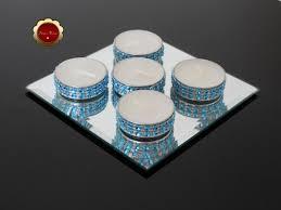blue tea light candles 25 bling light blue tea light candles blue rhinestone candles