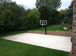 How To Build A Basketball Court In Backyard 25 Best Sport Courts Concrete Images On Pinterest Backyard