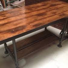 Pipe Desk Extra Thick Pipe Reclaimed Wood Desk Industrial Desk by Reclaimed Wood Table With Industrial Pipe Legs 60