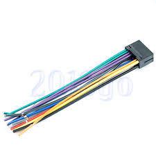 jvc wiring harness ebay
