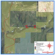 Wydot Map Middle Fork Powder River Ellis Public Access Area