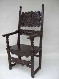 Italian Armchair 16th To 17th C Walnut Italian Carved Armchair For Sale Antiques