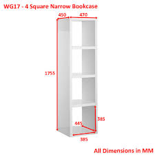 Narrow Corner Bookcase by Bookcase Tall Narrow Bookcase Deep Bookcase Bookshelf Target