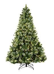 abusa pre lit trees 7 5 pine needle