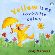 favourite colour yellow is my favourite colour judy horacek