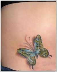 enchanting butterfly tattoos