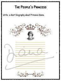 albert einstein biography ks2 princess diana facts information worksheets for kids