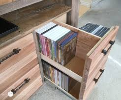 Dvd Holder Woodworking Plans by Reclaimed Wood Media Console My Love 2 Create