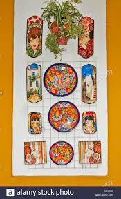 ceramic painted tiles and plates for sale in marbella spain