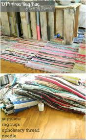 Rag Area Rug 30 Magnificent Diy Rugs To Brighten Up Your Home Diy Crafts