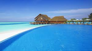 wallpaper beach resorts maldives 4k world 4769