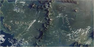Map Of Mordor Great Map Of Middle Earth Imgur