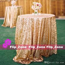 Cloth Table Skirts by Bling Gold Sequins Wedding Party Round Square Table Cloth Custom