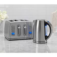 Toaster Kettle Set Silver Toaster And Kettle Set 10578