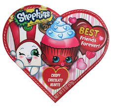 valentines day heart candy shopkins valentines day heart gift box with chocolate