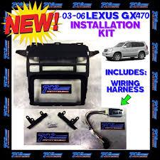 lexus gx470 dash lights 2003 2004 2005 2006 lexus gx470 double din radio install kit w