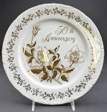 50th anniversary plates royal crown 50th anniversary pattern dinner plate 10 125