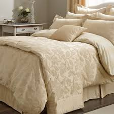 sanderson bedding colwyn double duvet cover gold amazon co uk