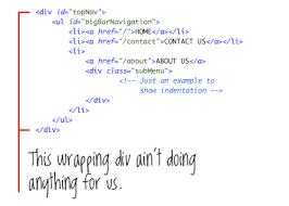 12 principles for clean html code u2013 smashing magazine