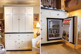 Cabinet For Mini Refrigerator Compact Kitchen Designs For Small Spaces Everything You Need In