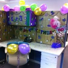 decorating coworkers desk for birthday office birthday celebration ideas 58 best birthday cubicle