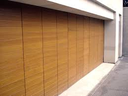 neoteric design modern garage doors awesome modern garage doors design made from wooden material in minimalist decoration