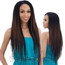 pre twisted crochet hair freetress synthetic hair crochet braids 2x nigerian pre stretched