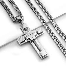 mens cross necklace pendant images Best mens cross necklace pendant photos 2017 blue maize jpg