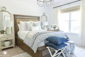 guest bedroom ideas one room challenge classic blue and white guest bedroom reveal