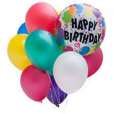 birthday balloon arrangements happy birthday balloon bouquet eau chippewa falls wi 54701