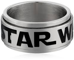 mens spinner rings wars jewelry men s logo of wars stainless steel spinner