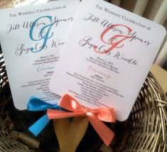 how to make wedding program fans wedding program fans how easy is this to make we have sticks
