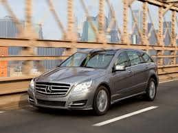 luxury minivan mercedes r class w251 facelift r class mercedes benz database carlook