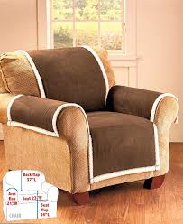Pet Chair Covers Microsuede U0026 Sherpa Furniture Covers Ltd Commodities
