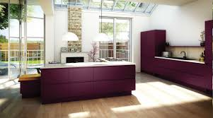 fascnating aubergine kitchen also modern kitchen island design and