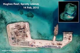Spratly Islands Map In Photos China U0027s Construction Of Military Bases In Spratlys