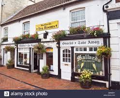 mallards tea rooms in tiverton devon england uk eu stock photo