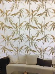 beautiful leaves pattern wall paradise imported wallpaper in