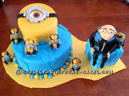despicable me cake topper awesome despicable me cake made with fondant
