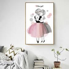 chambre danseuse décoration poster toile danseuse i you trendisy