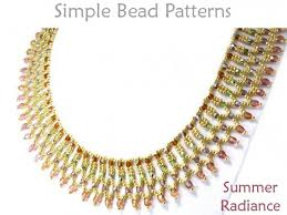 necklace pattern images Netted bead necklace pattern jewelry making tutorial jpg