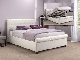 white double bed interiors design